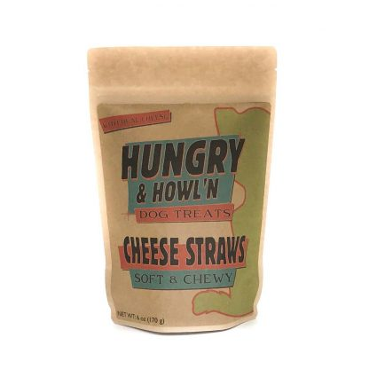 Hungry & Howlin' Cheese Straws Dog Treats