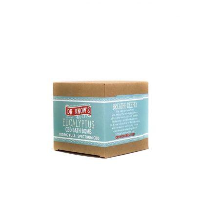 Dr. Know's Eucalyptus 100mg Bath Bomb
