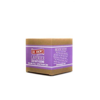 Dr. Know's Lavender 100mg Bath Bomb