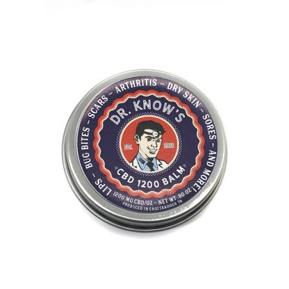 Dr. Know's Full-Spectrum CBD Balm