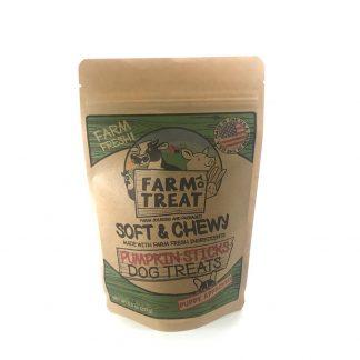 Farm To Treat Pumpkin Chew Sticks Dog Treats